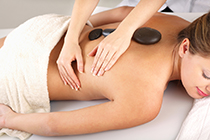 hot stone serenity massage Parramatta