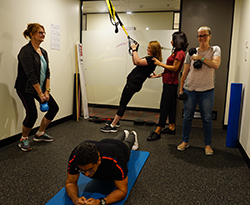 Exercise class Parramatta