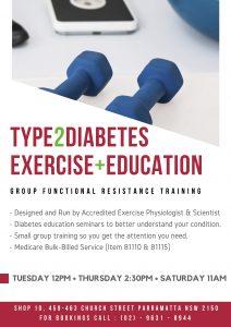 Type 2 Diabetes exercise class