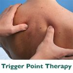 Remedial massager therapist trigger points