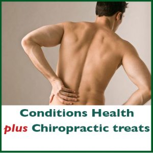 Conditions Health plus chiropractic treats