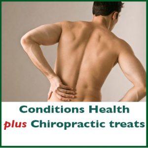 Conditions Health plus chiropractic treats