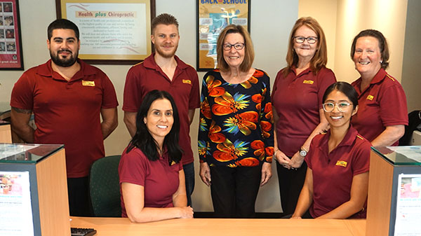 Health plus chiropractic Parramatta team